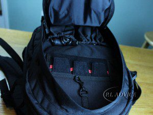Canon Backpack second compartment