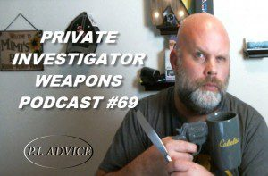 Private Investigator Weapons
