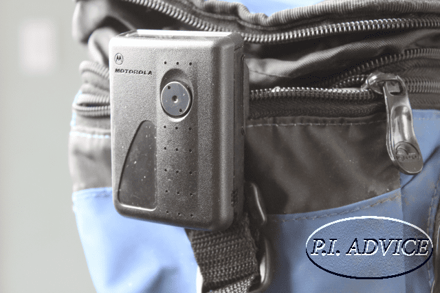 First Pager Spy Camera